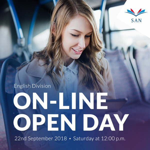 On-line Open Day - English Division